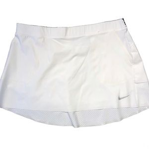 White Nike Golf Large Skirt